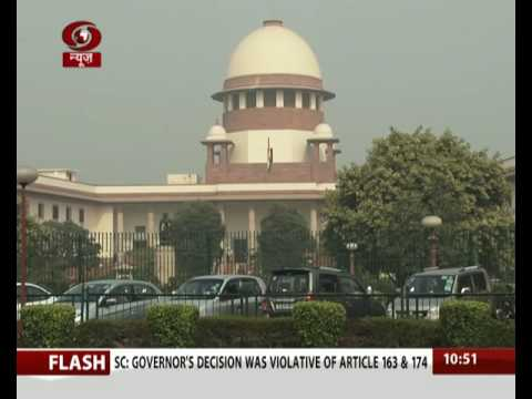 SC directs status quo ante in Arunahcal effective 15 December, 2015