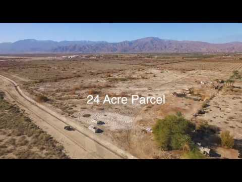 24 Acre Parcel for Sale in Thermal, CA. This property is a half mile from Jacqueline Cochran Regional Airport. The parcel is Zoned M - SC / Manufacturing - Services, Commercial Zone & Agriculture...