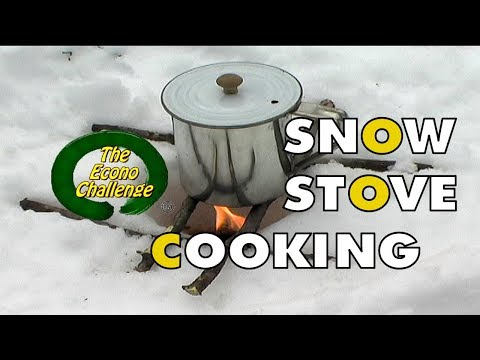 Snow Stove Coffee in the Woods - Video Response