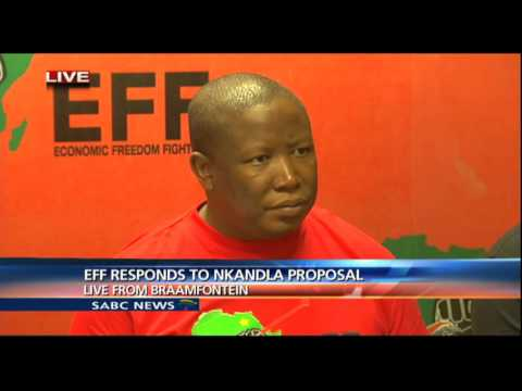 Julius Malema bans Gupta-owned media from EFF events