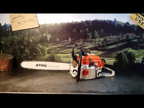 The Chainsaw Guy Shop Talk MS 261 Test Chainsaw