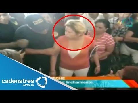 ¡¡INCREÍBLE!! Intentan linchar a mujer por fraude / IMÁGENES IMPRESIONANTES