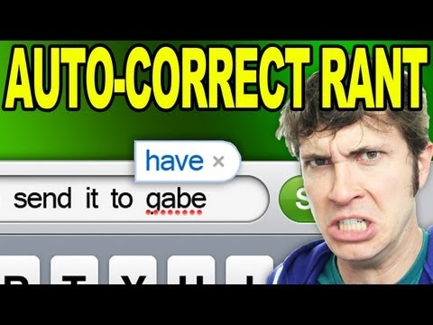 AUTOCORRECT RANT  is listed (or ranked) 7 on the list The Best Tobuscus Videos on YouTube