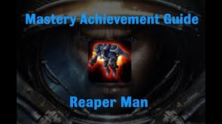 Reaper Man Mastery Achievement - Starcraft 2 Wings of Liberty