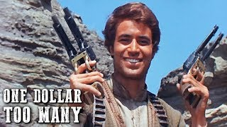 One Dollar Too Many | WESTERN MOVIE | John Saxon | Spaghetti Western Movie | Cowboy Film | English