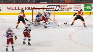 Gotta See It: Konecny banks OT winner off Pavelec from impossible angle