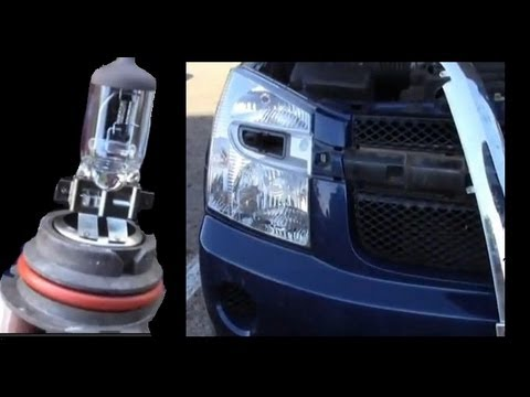 Have a Headlight Out?  Here's How to Replace it on a Chevy Equinox
