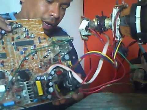 como reparar un televisor samsung 20pg