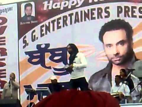 Babbu Maan - Live In Hoshiarpur 2011 New Song Challa India - hindi Movie Crook (Feb 2011)