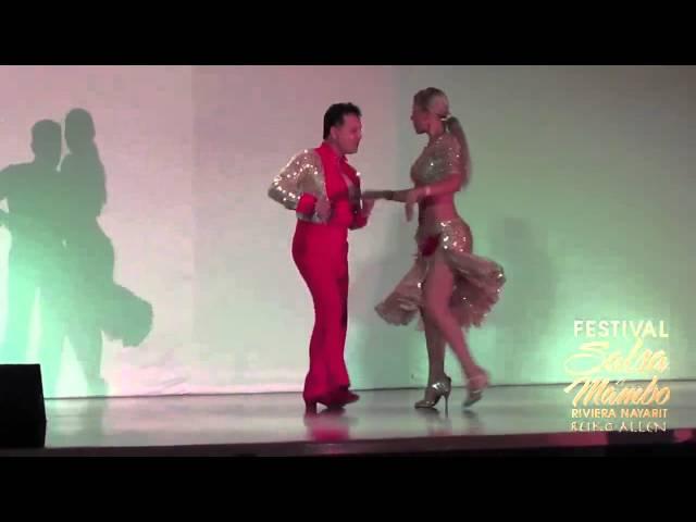 Marcos & Begonia - Riviera Nayarit Salsa & Mambo Festival 2013