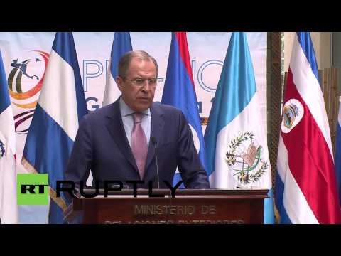 Guatemala: Lavrov addresses reports Russian OSCE members were threatened in Ukraine