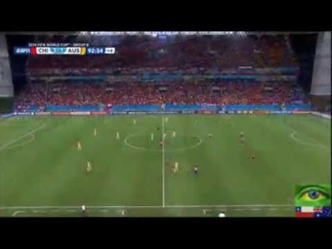 Chile 3 - 1 Australia Highlights World Cup 2014
