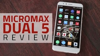 Micromax Dual 5 Review | Dual Camera Test, Specs, Price, and More