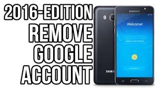 Новый метод Удаление Google аккаунт на смартфонах Smasung A5,A7,J5,J7,J2,J3. Android 6.0.1. 5.1.1.