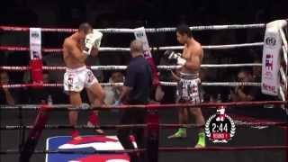 Mauro Serra vs Saiyok Pumpanmuang