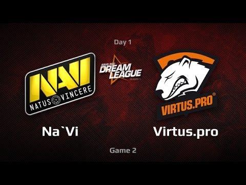 Na'Vi -vs- Virtus.pro, DreamLeague Day 1, Game 2