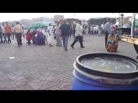MOROCCO - Marrakech Djamaa el Fna | Morocco Travel - Vacation, Tourism, Holidays  [HD]