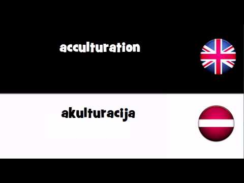Header of acculturation