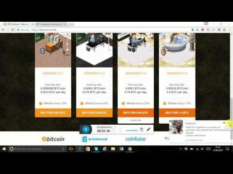 BTCProMiner Bitcoin mining Earn Bitcoin for free Minage Bitcoin gratuit