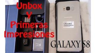 Samsung Galaxy S8 UNBOXING OFICIAL!!! y primeras impresiones