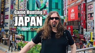 Metal Jesus in JAPAN - Game Hunting in Osaka, Kyoto & Tokyo (Part2)