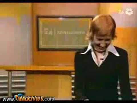 Śmieszny filmik - Cichy bąk na antenie!
