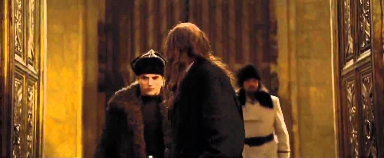 Durmstrang Students Enter Hogwarts