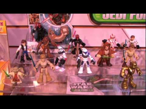 Hasbro Playskool HEORES - Toy Reveals Star Wars Transformers Marvel NY Toy Fair 2012