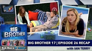 Big Brother 17 Episode 26 Recap with Ian Terry | Thursday, Aug 20, 2015 after BB17 LIVE