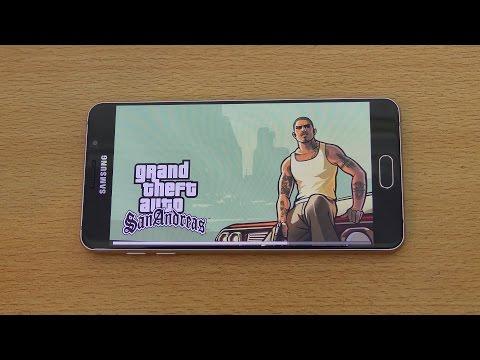 Samsung Galaxy A7 (2016) Gaming Review GTA San Andreas (4K)