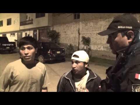 SERENAZGO CAJAMARCA - Capturas a sujetos por robo y asalto / 20-02-14