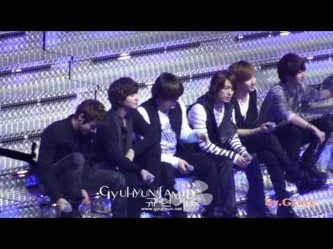 [fancam]091212 Super Show II in Nanjing - Our Love [main Kyuhyun]