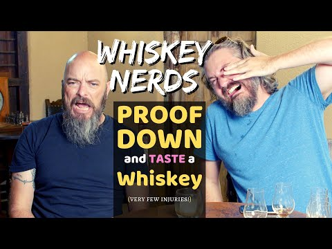 Whiskey Proof Experiment (How does ALCOHOL% impact flavor???)