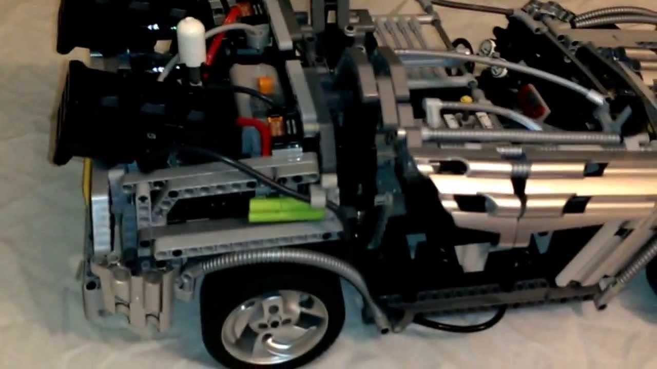 Lego Technic Back To The Future Delorean Youtube