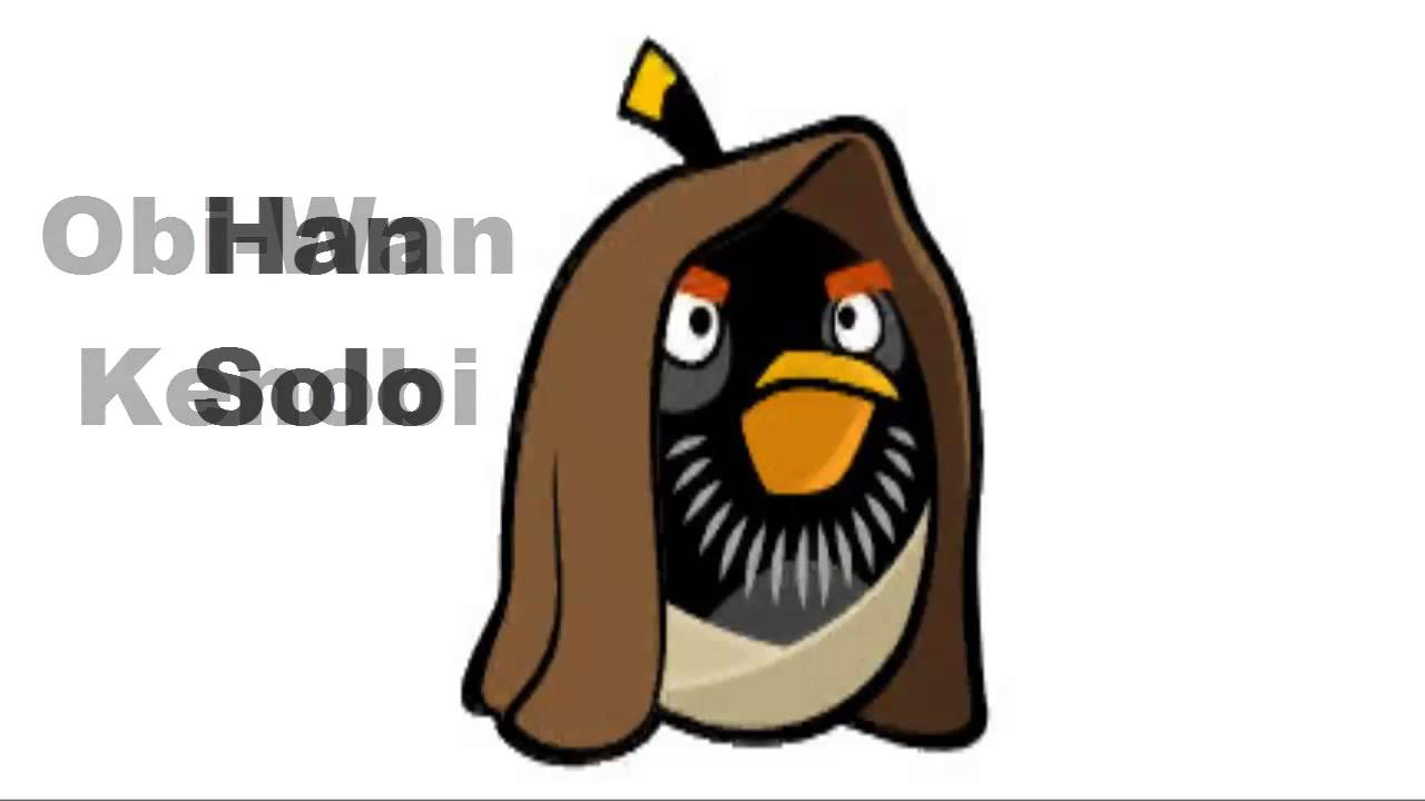 Personajes de angry birds star wars hd youtube - Angry birds star wars 8 ...