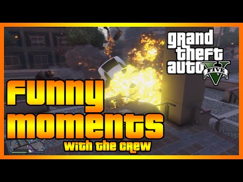 GTA 5 Online - Funny Moments with The Crew (#SmallPenisProblems, Planes and More!)