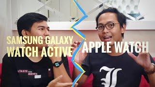 Apple Watch vs Samsung Galaxy Watch Active: Pilih Mana? #NGANU
