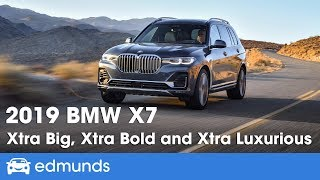 2019 BMW X7 - First Drive Review of BMW's Big New SUV