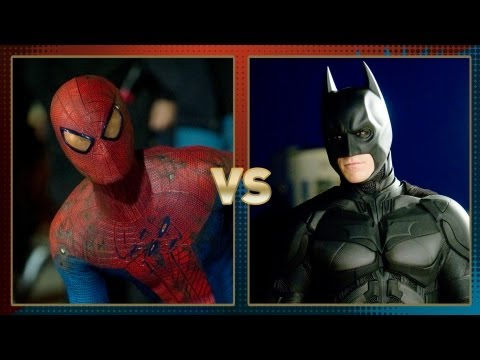 Spider-Man vs. Batman: Fanboy Faceoff