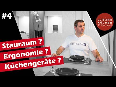 Stauraum? Ergonomie? Küchengeräte?  Tipps zur Küchenplanung! I 4ter Streich unserer Tutorial - Serie
