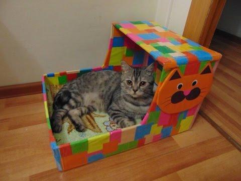 Дом для кота (своими руками) - Latest Hindi mp3 songs , Songspk , Bestsongspk.com , Download mp3 songs ,Video Songs ,youtube Vid