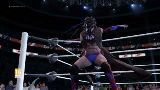 WWE 2K17 Entrada en el ring de Finn Balor