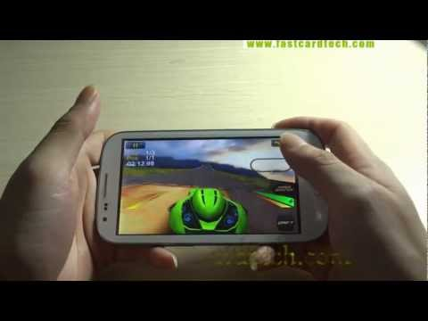 Hdc Galaxy S3 I9377 Dual Core Clone New King 3d Game Reviews video