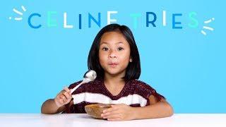 Celine Tries | Kids Try | HiHo Kids