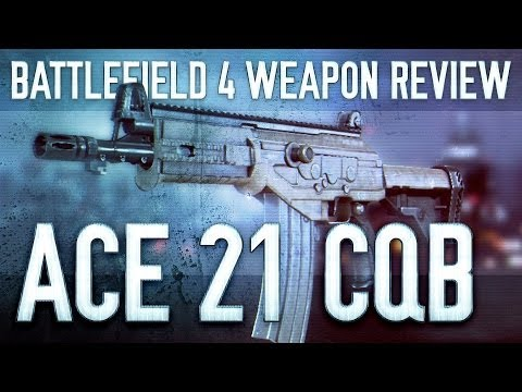 ACE 21 CQB : Battlefield 4 (BF4) Weapon Guide & Gun Review