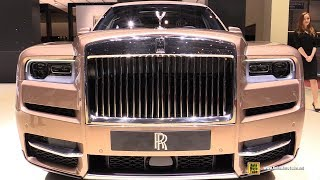2019 Rolls Royce Cullinan - Exterior and Interior Walkaround - 2019 Geneva Motor Show