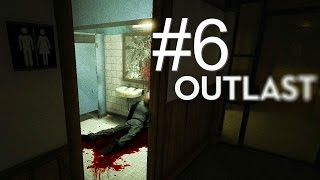 """This big black ghost"" (Outlast gameplay) #6"