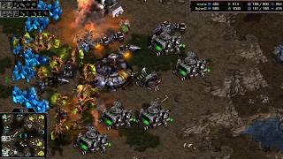 hero (Z) v Flash (T) on Fighting Spirit - StarCraft - Brood War REMASTERED