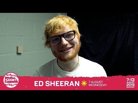 Ed Sheeran // Sziget 2019