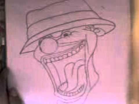 Imagenes de dibujos a lapiz de graffitis de payasos - Imagui